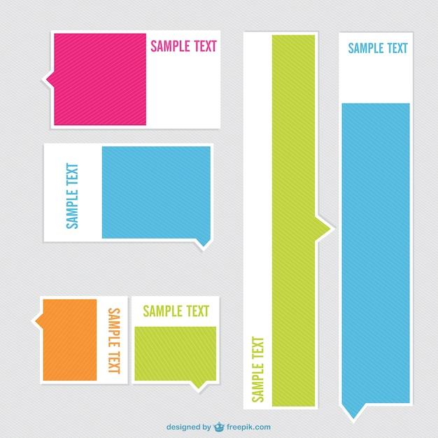 Dise o de etiquetas minimalistas descargar vectores gratis for Diseno de etiquetas