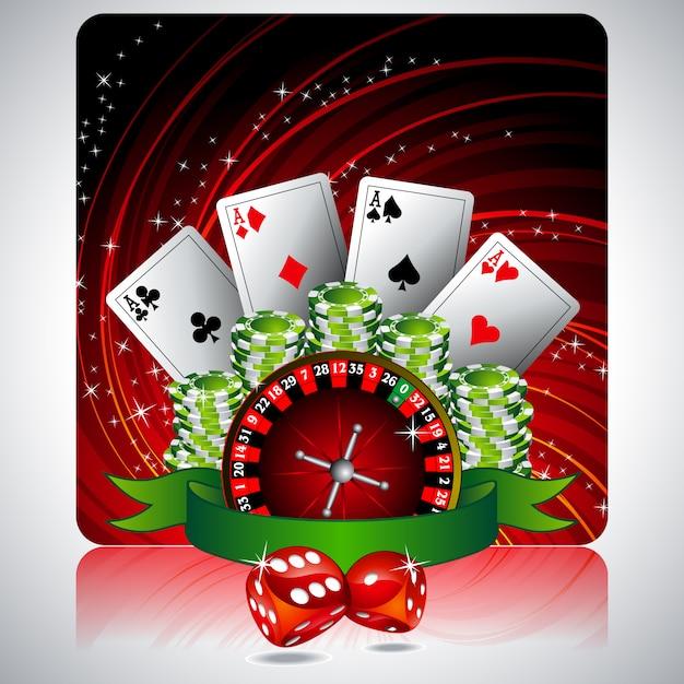 geburtstagskarte casino