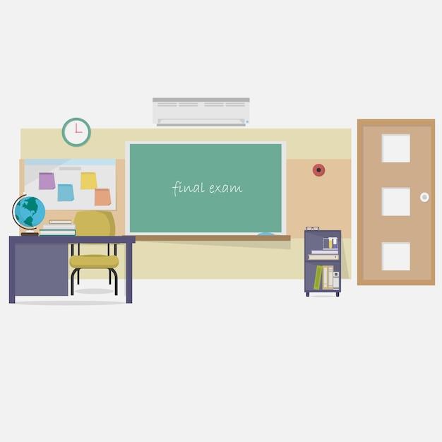 Classroom Design Software Download ~ Diseño de fondo clase descargar vectores gratis