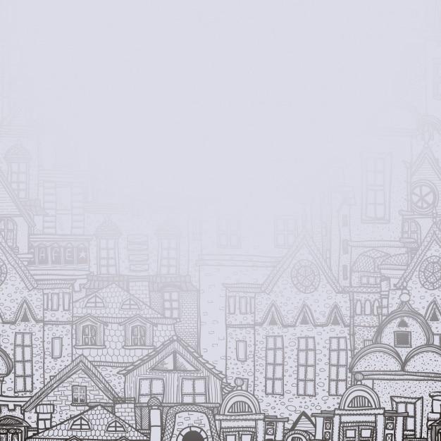 Dise o de fondo de edificios de ciudad descargar for Diseno de edificios
