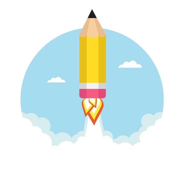 Diseño de fondo de educación Vector Gratis