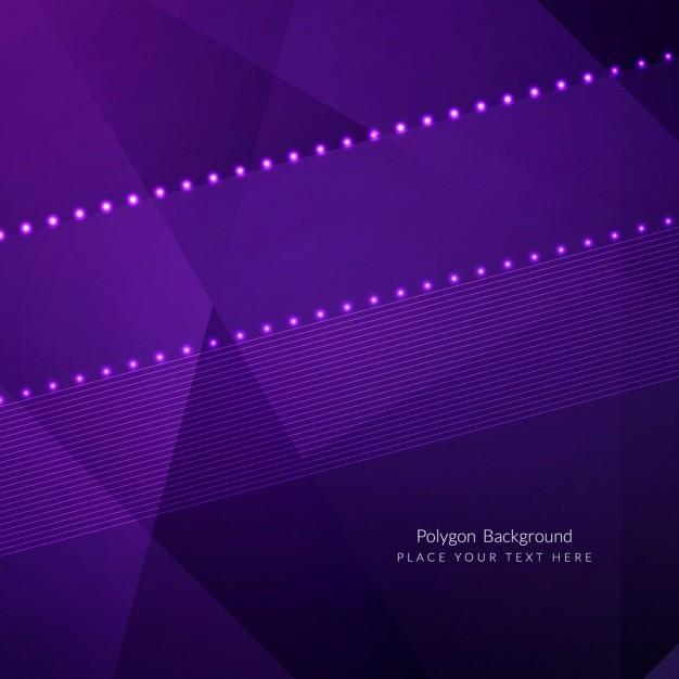 Diseño de fondo poligonal de color morado   Descargar Vectores gratis