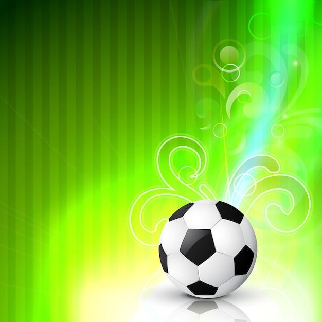 Dise o de f tbol sobre fondo verde descargar vectores gratis for Diseno sobre