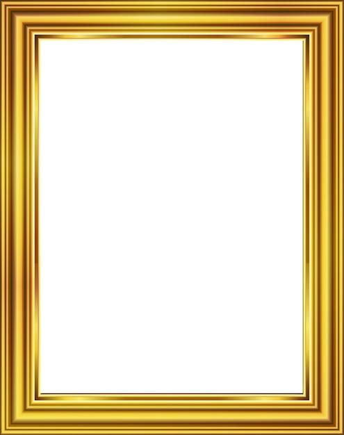 Diseño de imagen de marco dorado | Descargar Vectores Premium