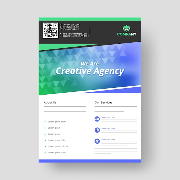 Diseño de informe anual, portada, folletos de plantilla de vector ...