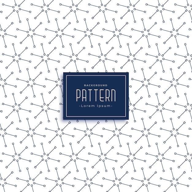 Diseño de patrón de estrella de línea abstracta | Descargar Vectores ...