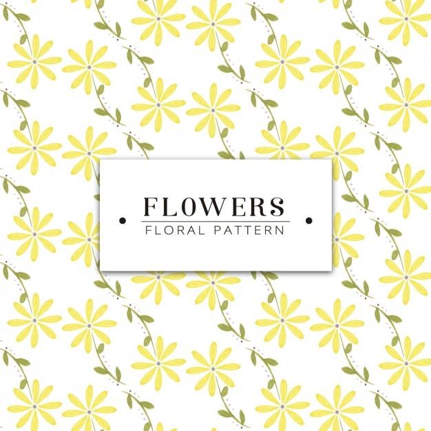 Bonito Patrón Gratuito De Punto Flores Inspiración - Patrón de ...