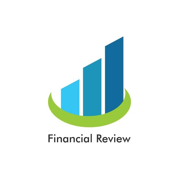 Diseño de plantilla de logotipo de revisión financiera | Descargar ...