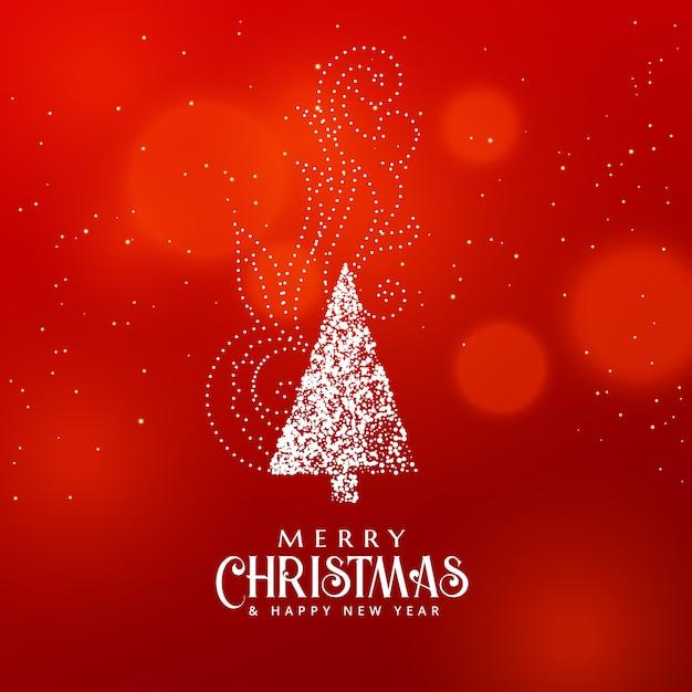 Dise o del rbol de navidad con elemento decorativo sobre - Arbol navidad diseno ...