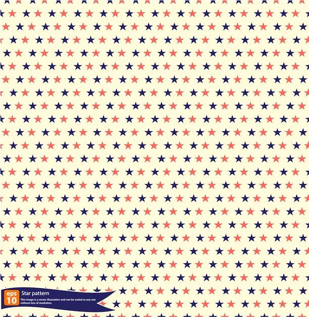 Diseño del vector del patrón de estrella de la vendimia, modelo ...