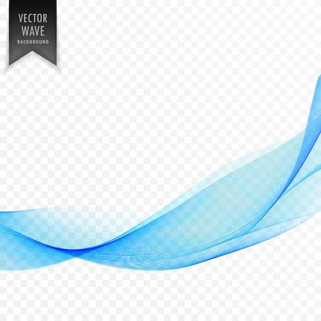 6b9e7753f183c Diseño de elemento de forma ondulada azul moderno