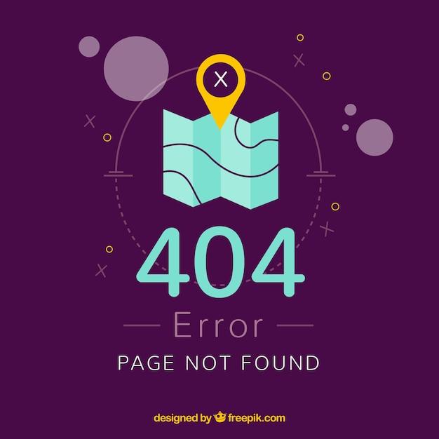 Diseño de error 404 vector gratuito