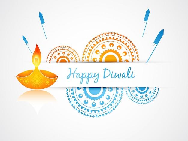 Dise o festivo de vela para diwali descargar vectores gratis - Velas de diseno ...