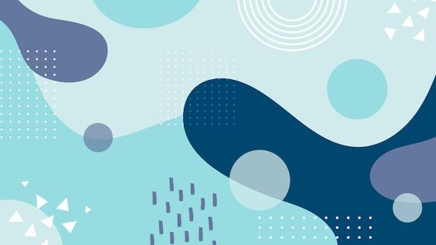 Diseño fluido de fondo abstracto vector gratuito