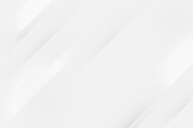 Diseño de fondo abstracto blanco vector gratuito