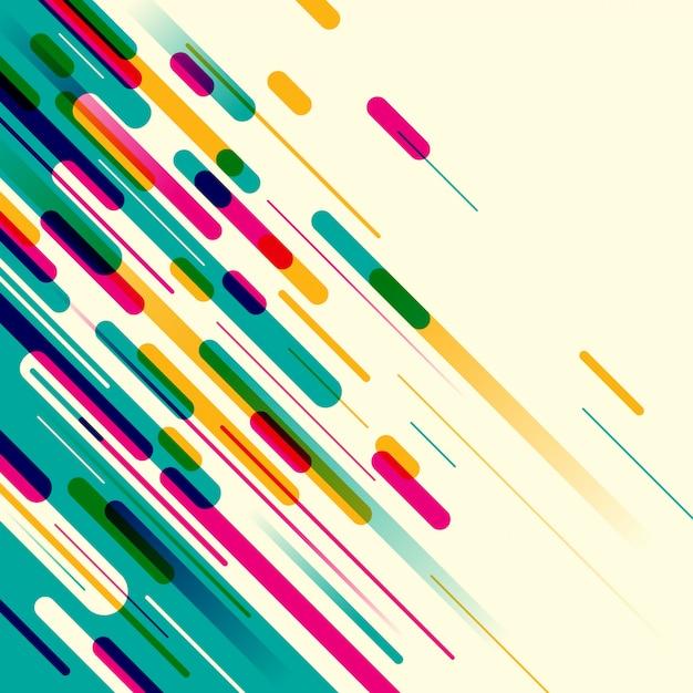 Diseño de fondo abstracto Vector Premium