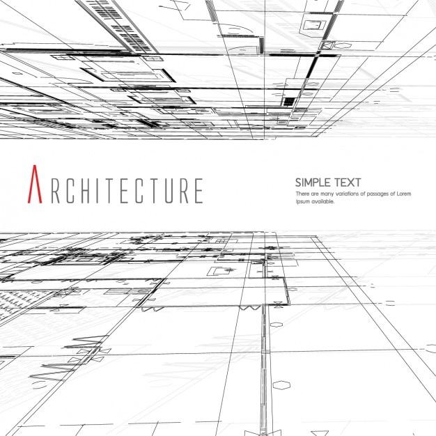 Diseño de fondo de arquitectura | Vector Gratis
