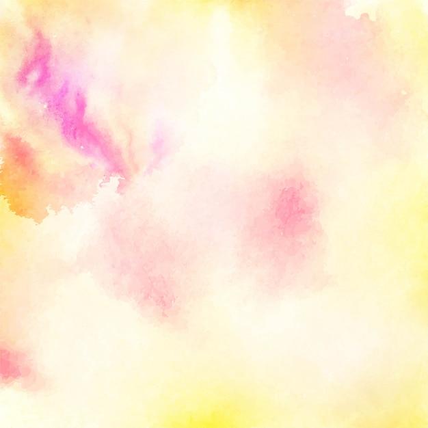 Diseño de fondo brillante acuarela abstracta vector gratuito