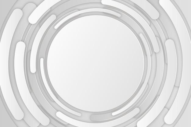 Diseño de fondo de estilo de papel 3d vector gratuito