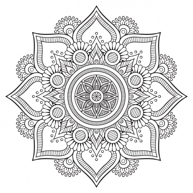Diseño de fondo floral vector gratuito