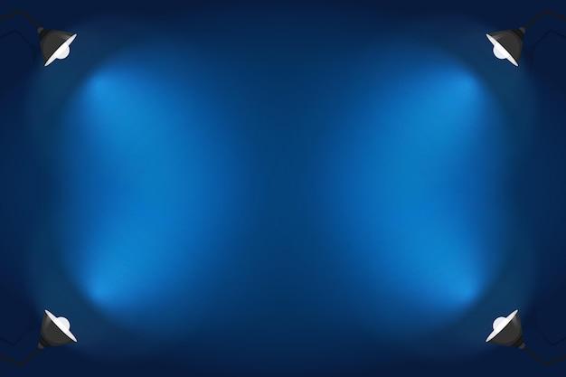 Diseño de fondo de focos vector gratuito