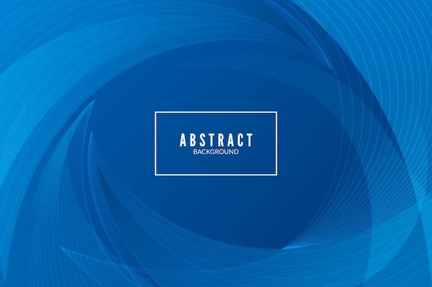 Diseño de fondo moderno azul clásico abstracto vector gratuito