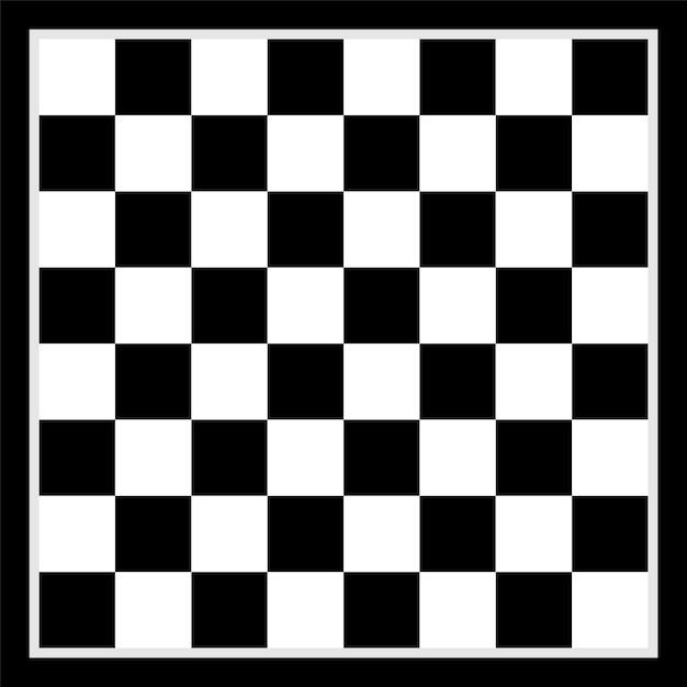 Diseño de fondo de tablero de ajedrez Vector Premium