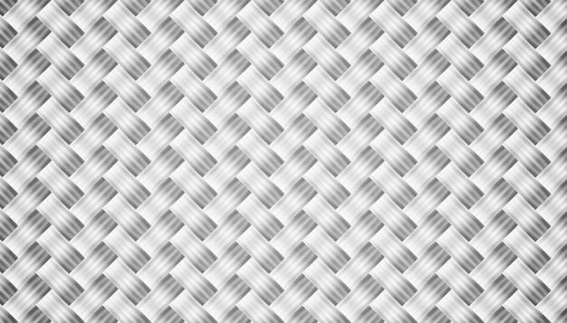 Diseño de fondo de textura de fibra de carbono gris abstracto vector gratuito