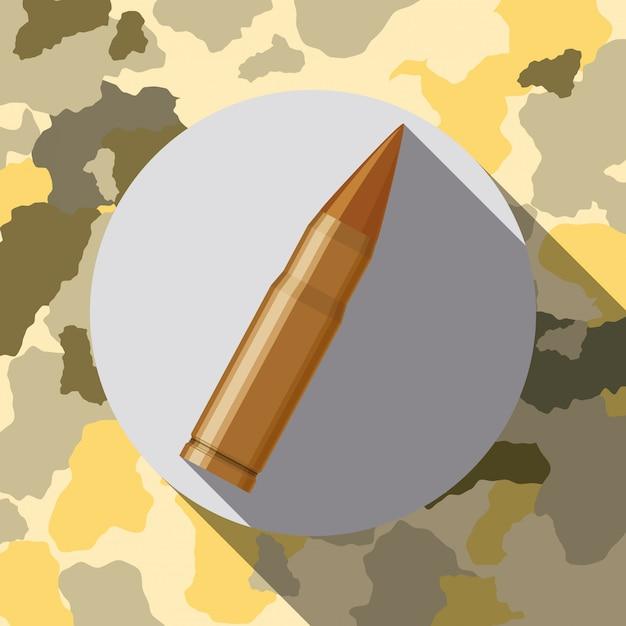 Diseño de fuerzas militares. Vector Premium