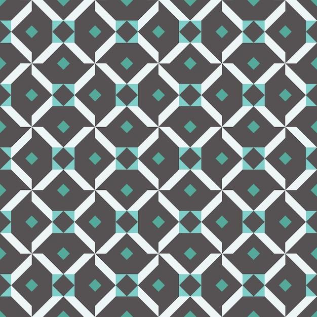 Diseño gráfico decoración abstracta sin patrón Vector Premium