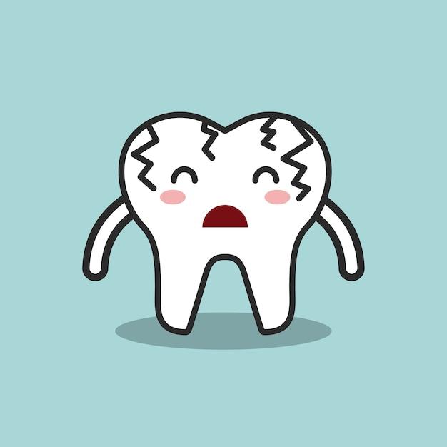 Diseño de higiene dental, ilustración vectorial gráfico eps10 Vector Premium