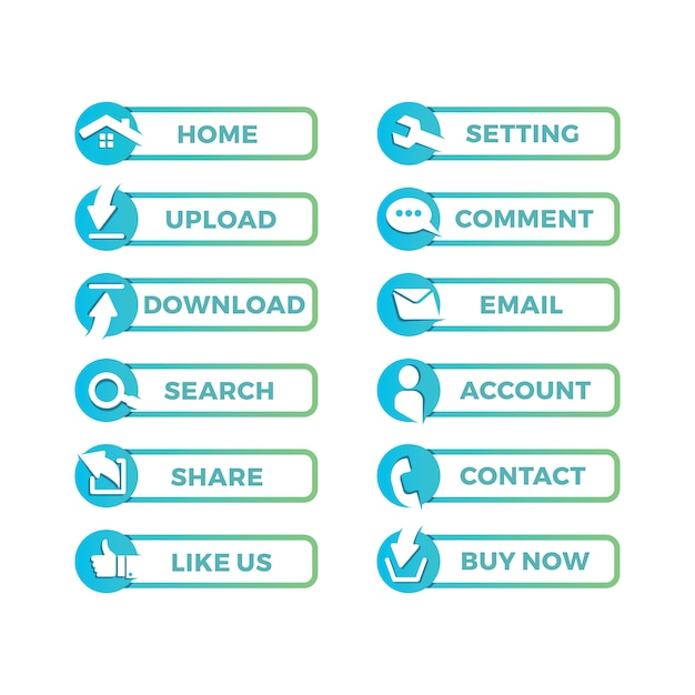 1e903015a97c5 Diseño de iconos para página web