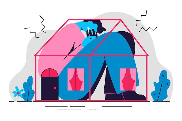 Diseño de ilustración de fiebre de cabina vector gratuito
