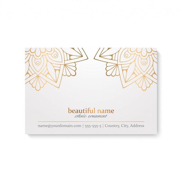 Diseño de mandala ornamental de lujo vector gratuito