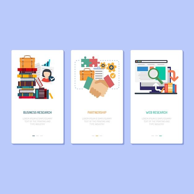 Diseño de páginas de destino investigación, asociación e ...