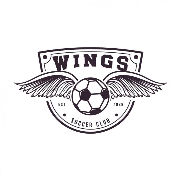 Diseño de plantilla de logo de fútbol  f9a2c166c6189