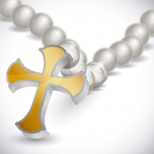 Diseño de la religión. Vector Premium