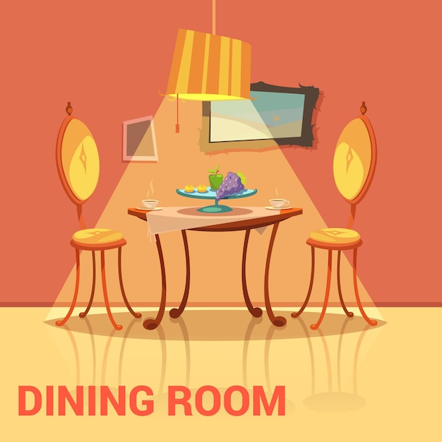 Vintage Adobe Dining Room