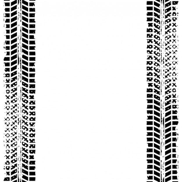 Diseño de la rueda de impresión Vector Premium