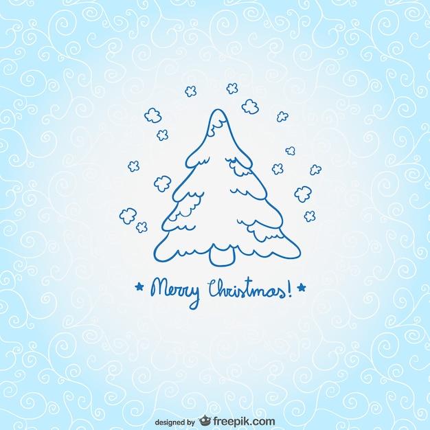 Diseño de tarjeta de navidad con colores claros | Descargar Vectores ...