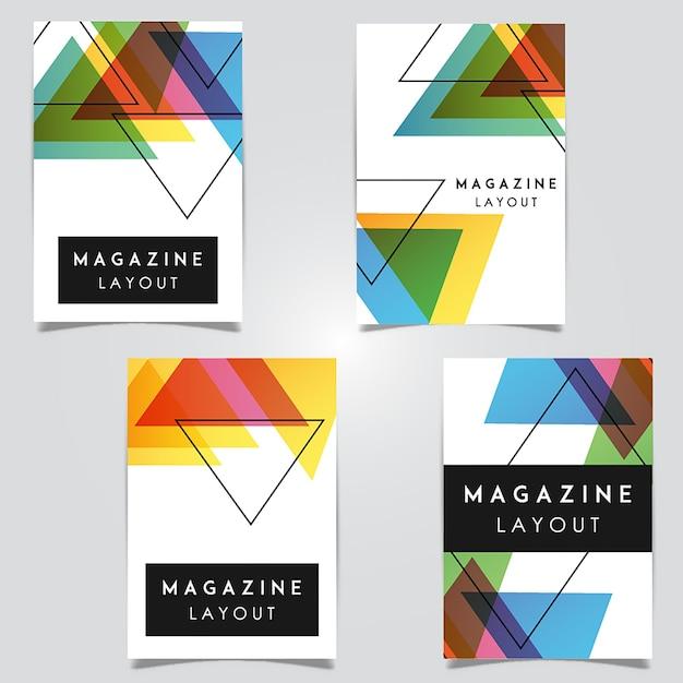 Diseños de plantillas de diseño abstracto de la revista ... - photo#38