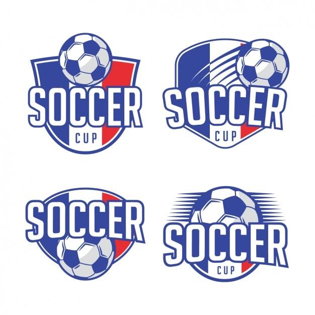 Diseños de plantillas de logos de fútbol  4a02d82131da3