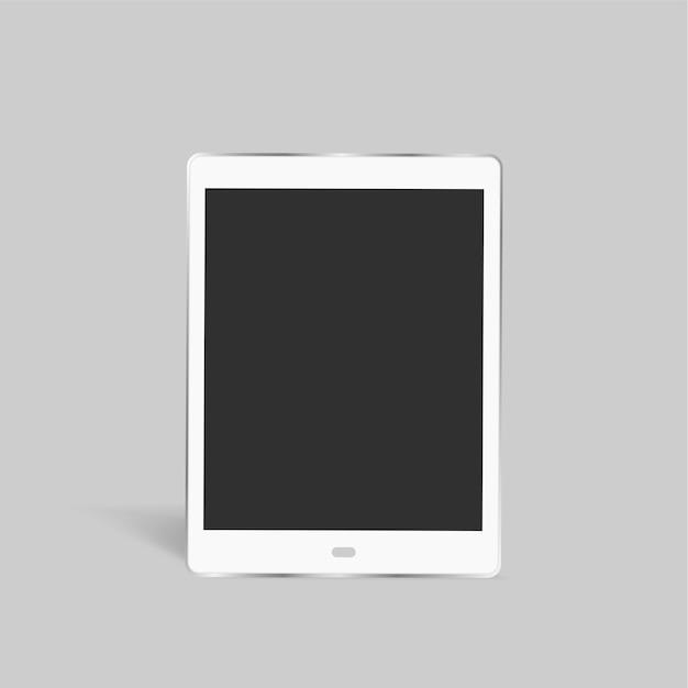 Dispositivo de tableta vector gratuito
