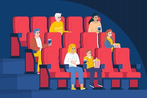 reapertura de salas de cines y teatros distancia social