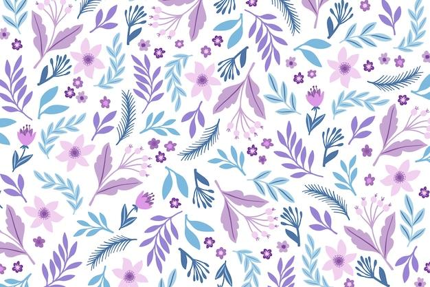 Ditsy fondo estampado floral vector gratuito