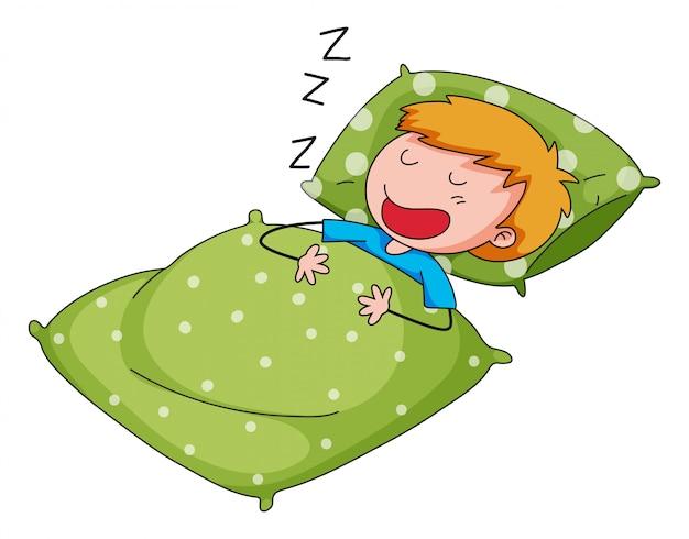 Dormido vector gratuito