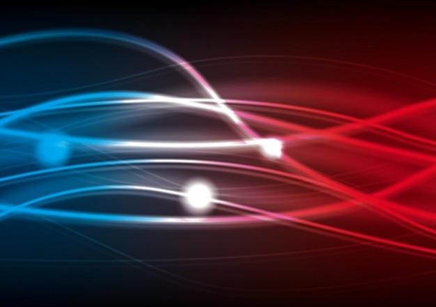 efecto de la luz Vector Gratis