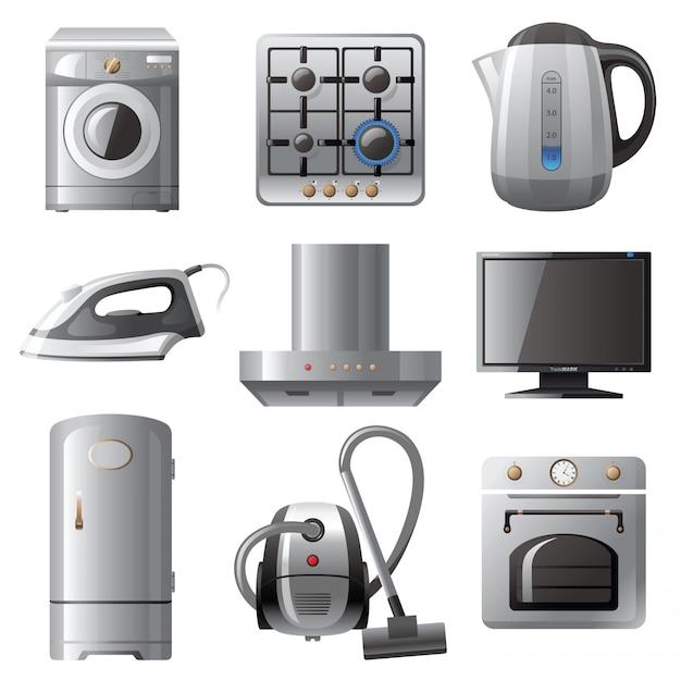 Electrodomésticos Vector Premium