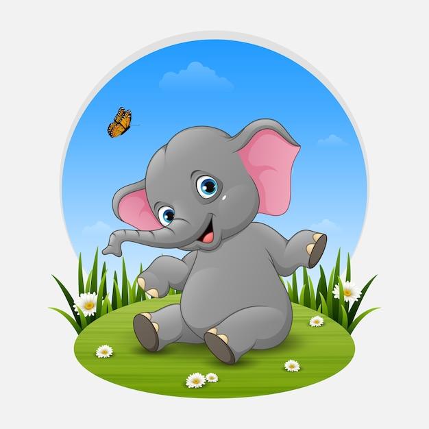 Color Dibujos De Elefantes Bebe Wwwimagenesmycom