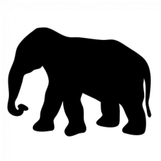 elefante contorno | Descargar Vectores gratis